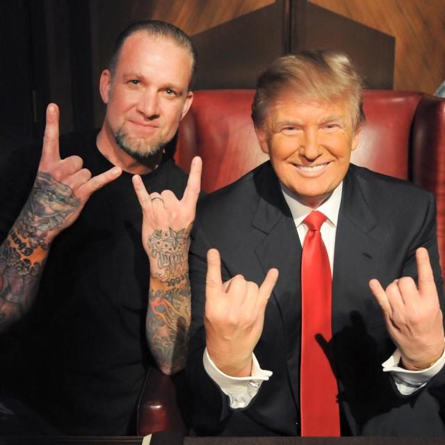 Jesse James endorses Donald Trump for president