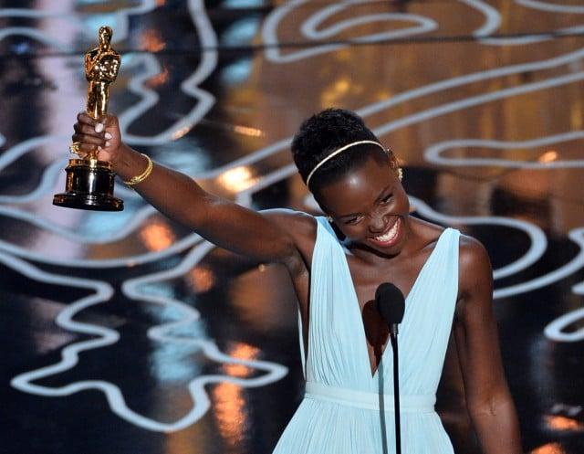 Lupita Nyong'O wins Oscar