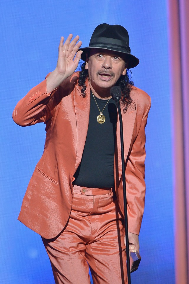 Carlos Santana compares Donald Trump to monkey