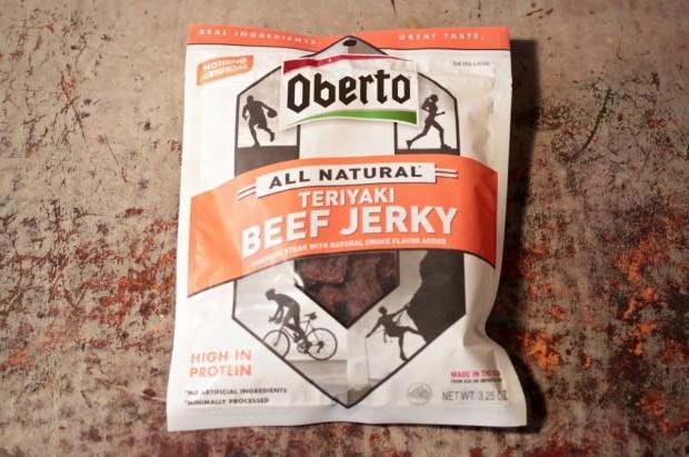 Oberto Teriyaki Beef Jerky (Credit: Katie Frates)