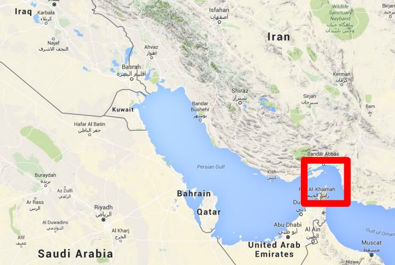 Pelosi says she could see iran from bahrain 150 miles away video google maps gumiabroncs Images