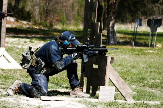 fighting rifle
