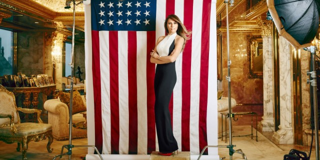 Why is Melania Trump never on the campaign trail?