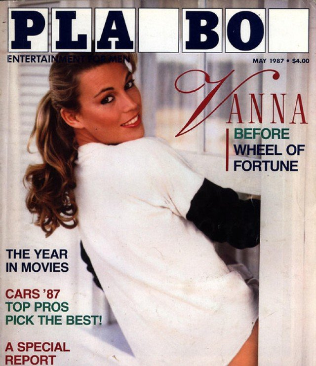 Vanna White in Playboy