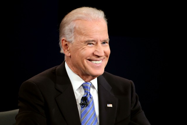 Joe Biden at Oscars