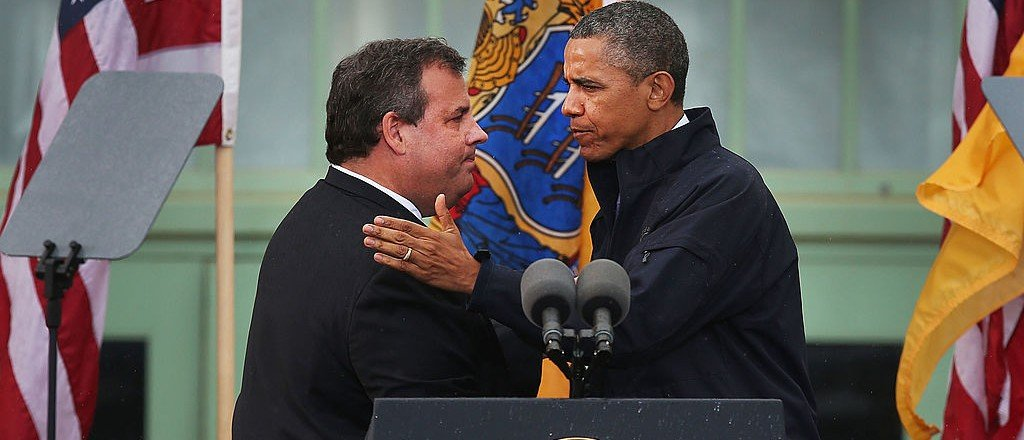 Chris Christie: 'I Never Hugged' Obama