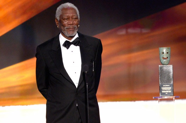 Morgan Freeman endorses Hillary Clinton