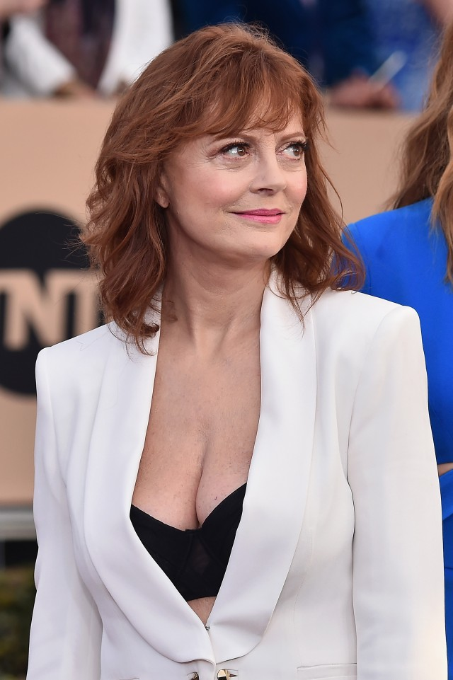 Susan Sarandon cleavage