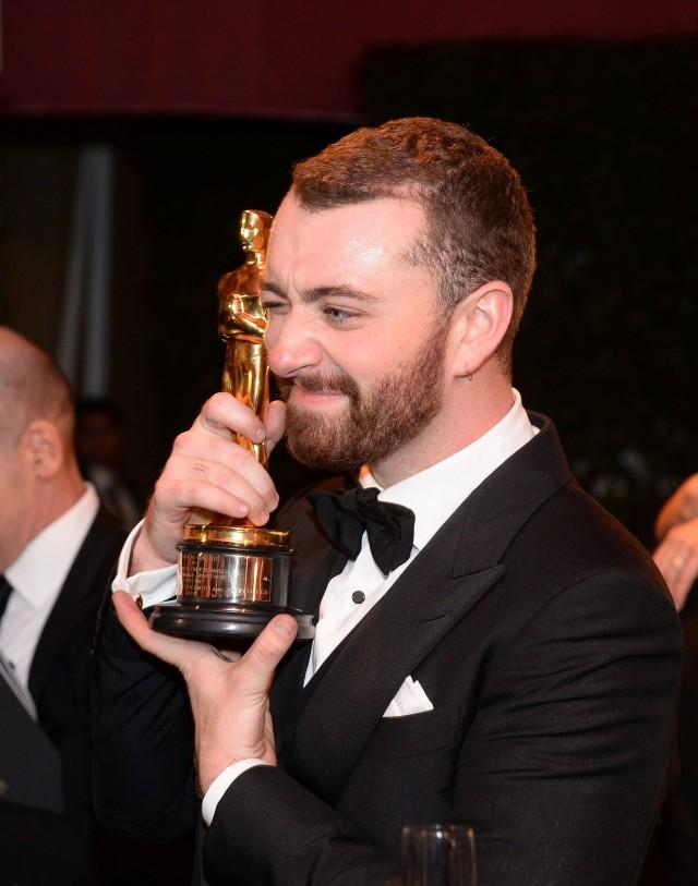 Is Sam Smith first gay man to win Oscar?