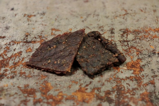Oberto Peppered Beef Jerky Review (Credit: Katie Frates)