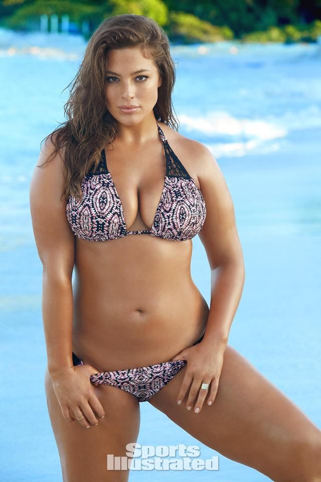 Ashley Graham Sports Illustrated Swimsuit model