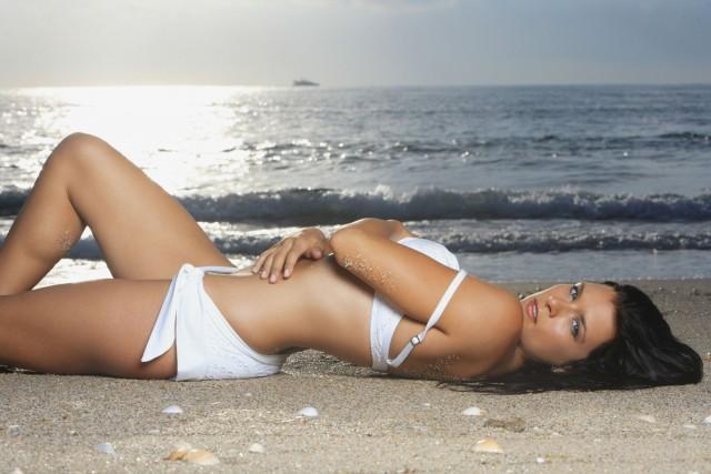 Danica Patrick hot swimsuit photos