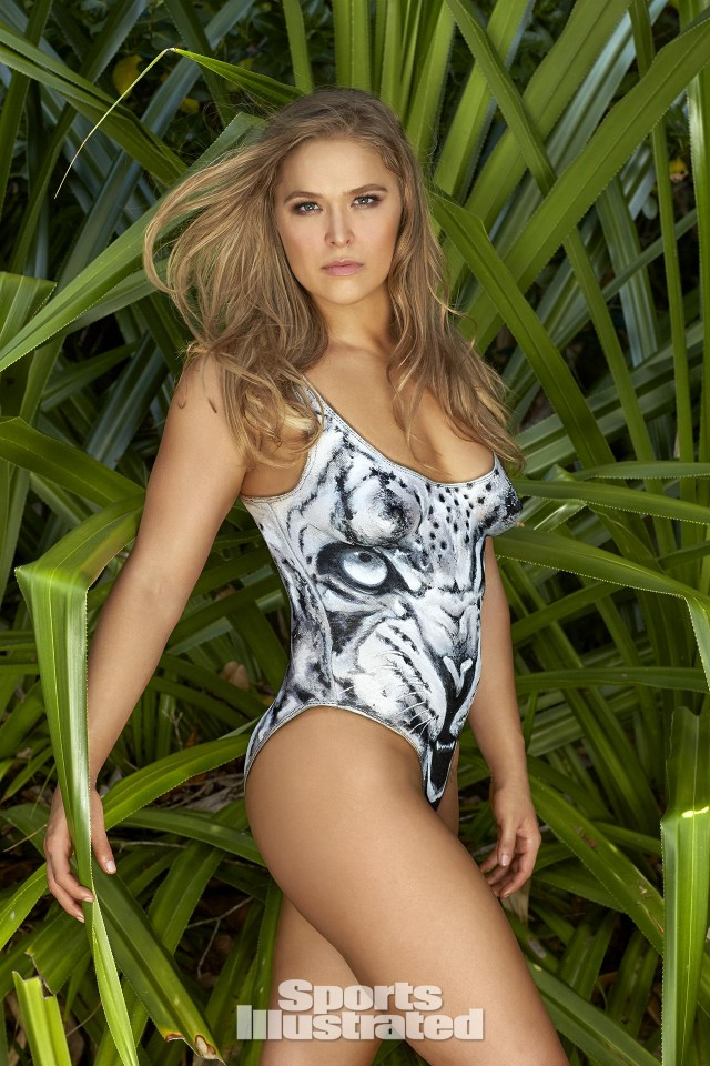 Ronda Rousey Sports Illustrated Swimsuit photos