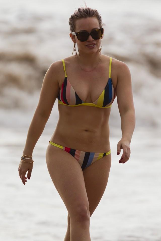Hilary duff bikini images, flash shaz women sucking
