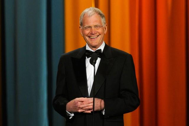 David Letterman beard
