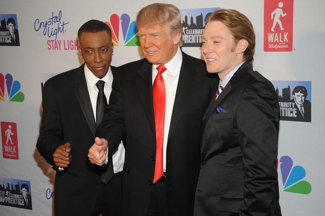 Clay Aiken Donald Trump