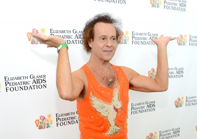 Richard Simmons held hostage