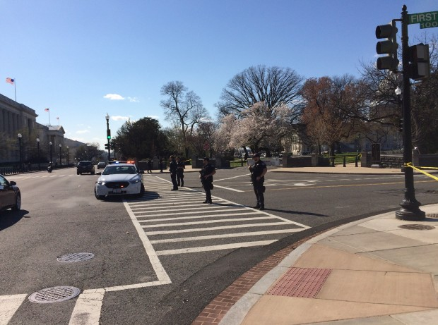 U.S. Capitol Shooting (Connor D. Wolf/DCNF)