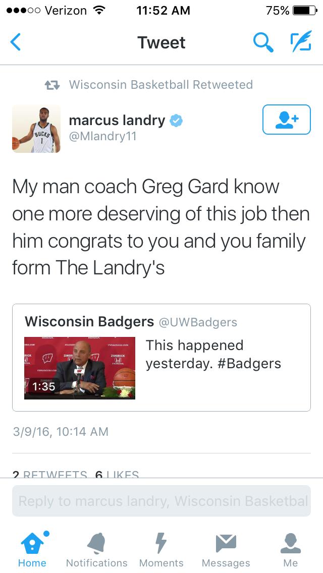 Marcus Landry (Credit: Screenshot/Twitter)