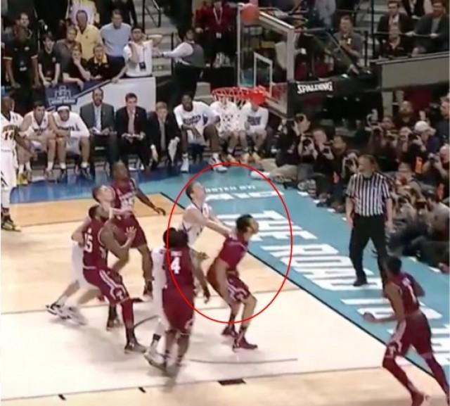 Adam Woodbury (Credit: Youtube/NCAA March Madness)