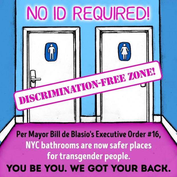 Photo attached to Bill de Blasio's facebook post regarding his recent executive order (Facebook/Bill de Blasio)