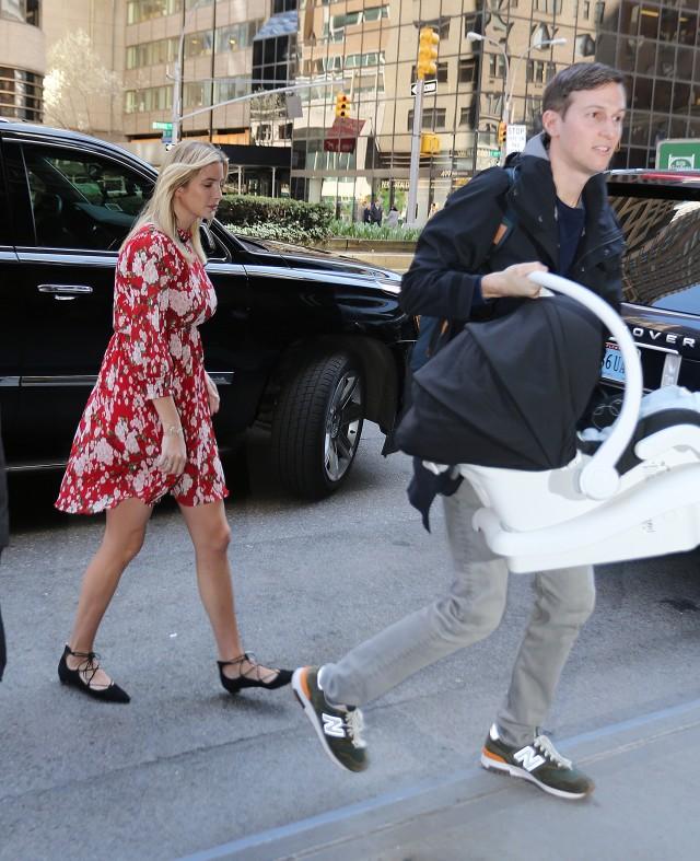 Ivanka Trump gives birth