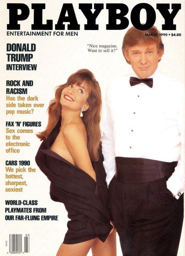 Donald Trump Playboy cover