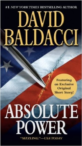 "Baldacci's most famous novel is ""Absolute Power,"" which was made into a Clint Eastwood movie (Photo via Amazon)"