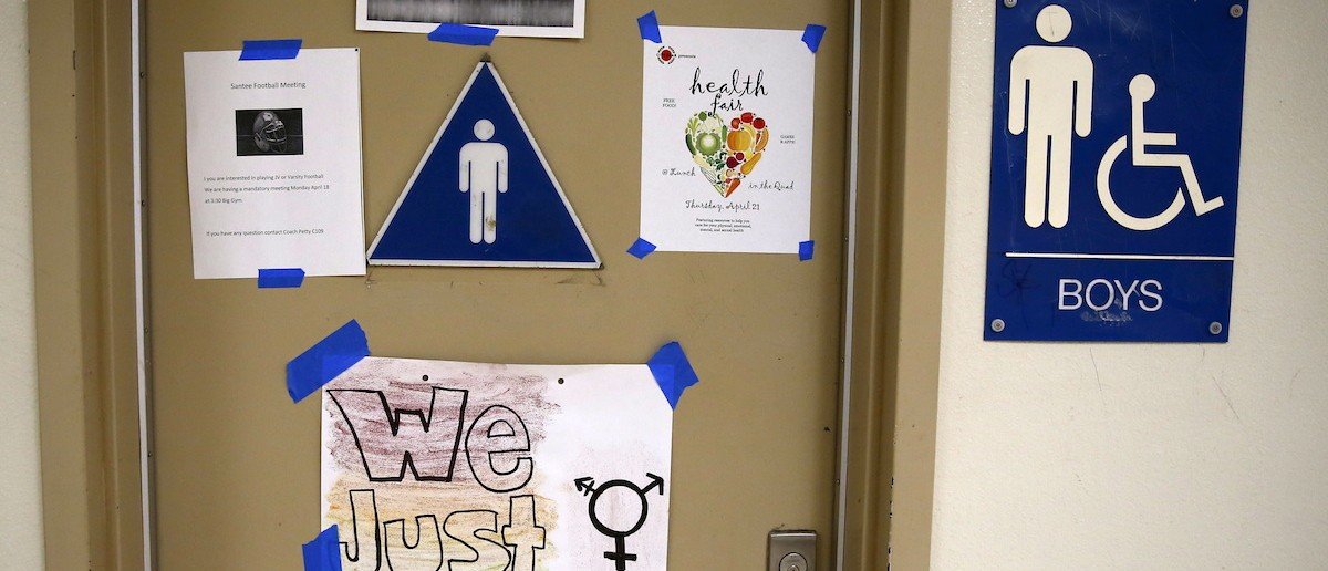 Bathroom Signs California university group heads 'restroom evoluti | the daily caller