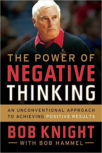 """The Power of Negative Thinking"" explains the secret to Trump's success (Photo via Amazon)"