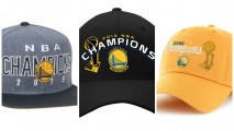 Three 2015 hat options available in the NBA Store (Photos via nba.com)