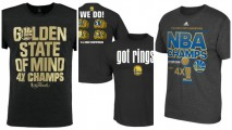 Show how you rooted for the Warriors when they only had 4 rings (Photos via nba.com)