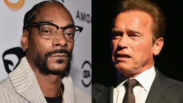 Snoop Dogg and Arnold Schwarzenegger