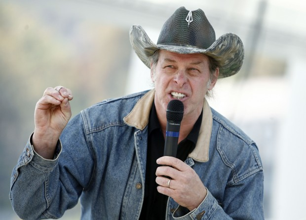 Ted Nugent. (Photo by Randy Snyder/Getty Images)