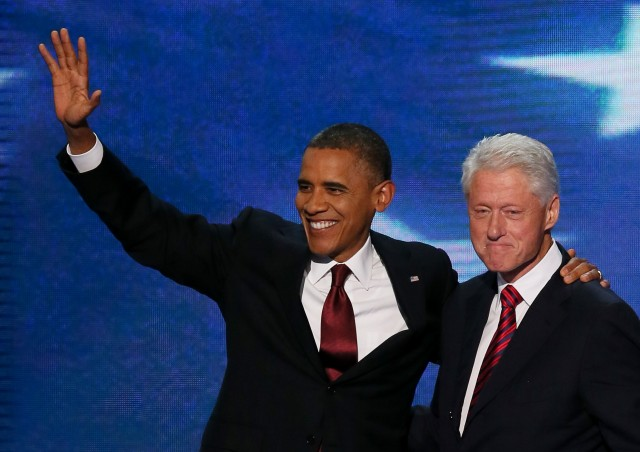 Clintons and Obamas hate each other