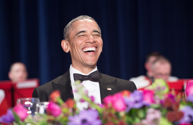 Obama mocks Trump at White House Correspondents Dinner