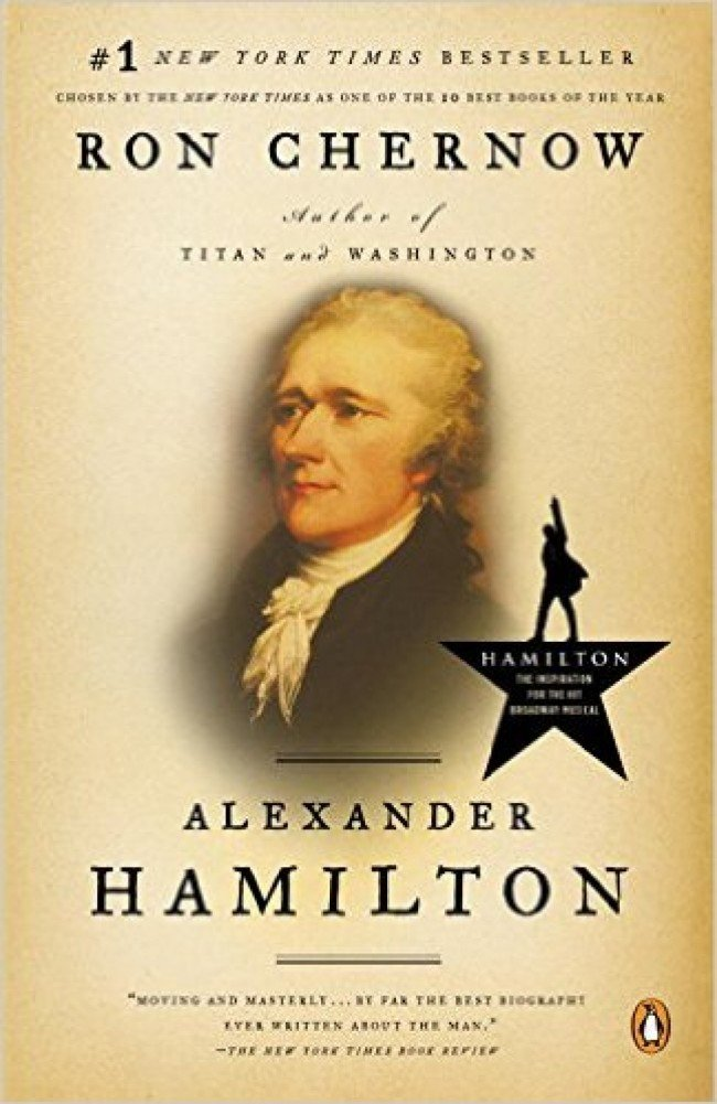 Read the book to learn about Hamilton without having to listen to rap music (Photo via Amazon)