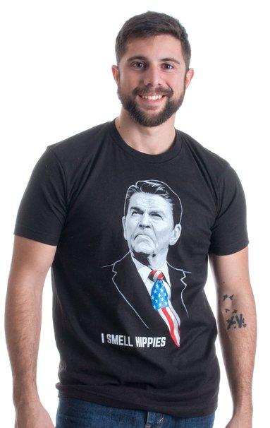 Ronald Reagan could sense hippie stink from a mile away (Photo via Amazon)
