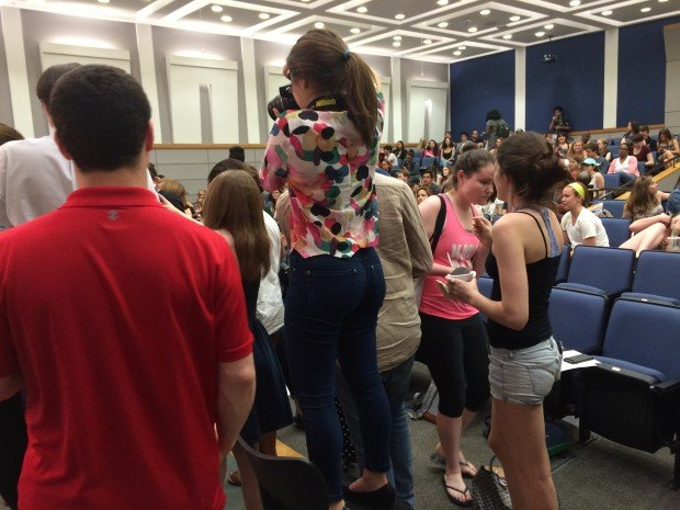 Ben and Jerry Serve Ice Cream At GWU (Connor D. Wolf/ DCNF)