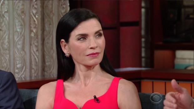 Julianna Margulies, Screen Shot CBS, 4-29-2016, Image 2