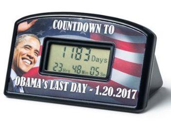 Countdown to Obama's last day (Photo via Amazon)