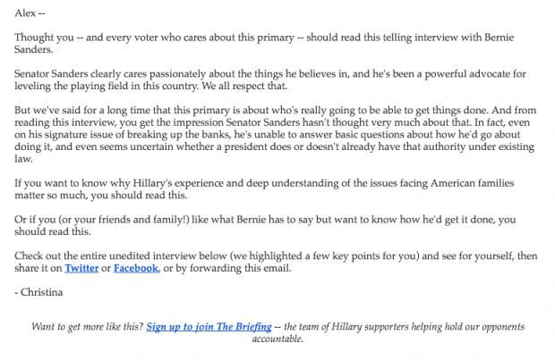 Hillary for America