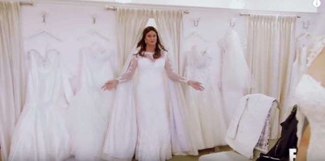 Caitlyn Jenner wedding dress