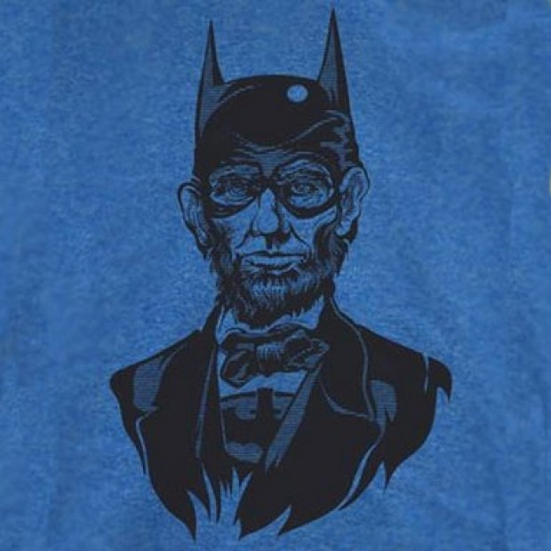 Abe Lincoln might have been the only way to save 'Dawn of Justice' (Photo via Amazon)