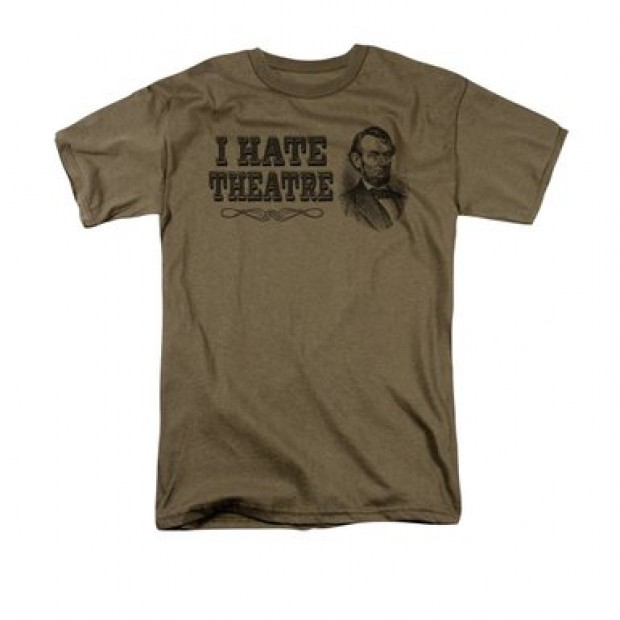 If Lincoln wouldn't go to a play, why should you have to? (Photo via Amazon)