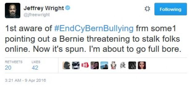 Screen shot @Jfreewright tweet