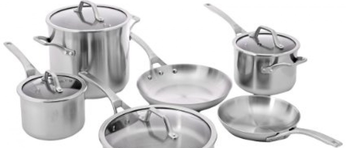 this calphalon stainless steel cookware set is 800 off photos via amazon