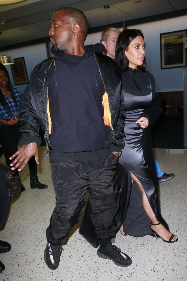 Kim Kardashian strange outfit