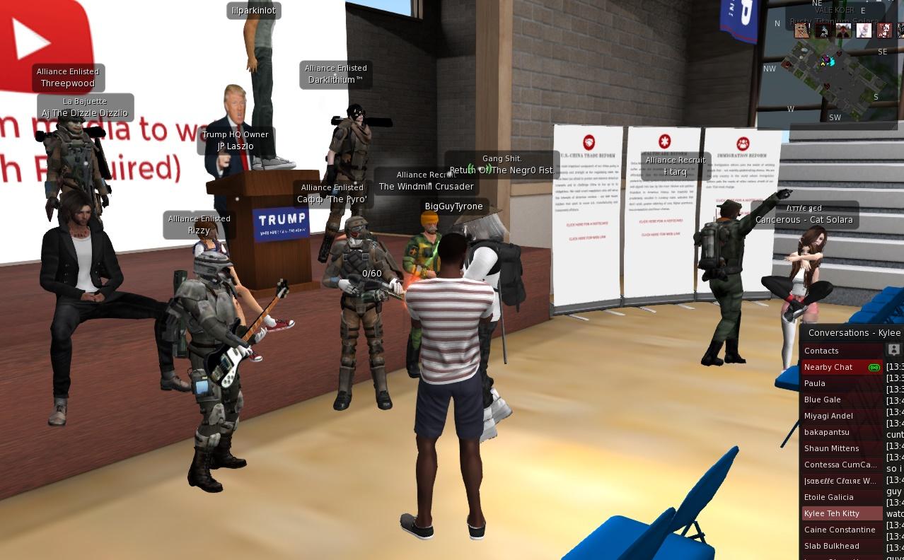 "Second Life (Screen grab by ""Comrade Kek"")"