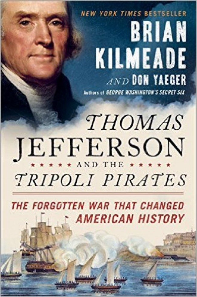 Brian Kilmeade's offers an exciting Jefferson take with this swashbuckler (Photo via Amazon)